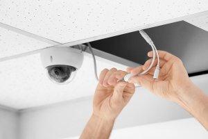 sistema alarma cableado IP