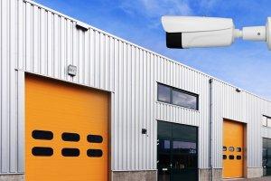 videovigilancia y alarma nave industrial